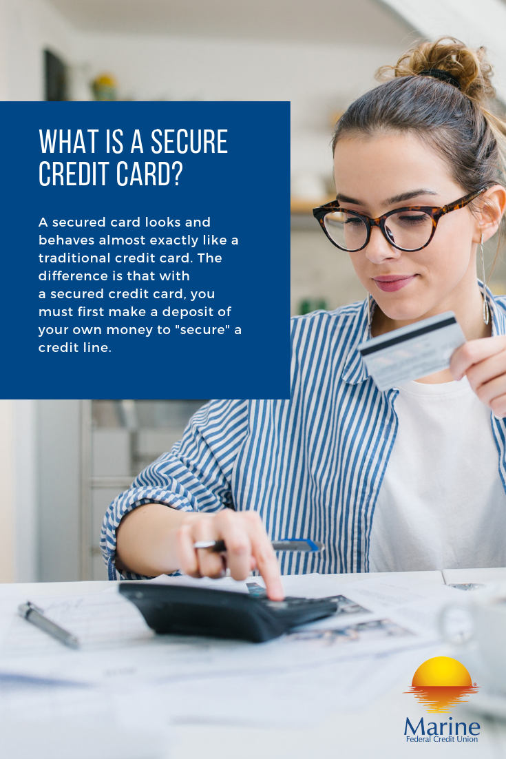 If you want to build or repair your credit, a secure