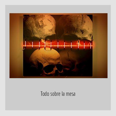 TODO SOBRE LA MESA.  YENY CASANUEVA Y ALEJANDRO GONZÁLEZ. PROYECTO PROCESUAL ART.