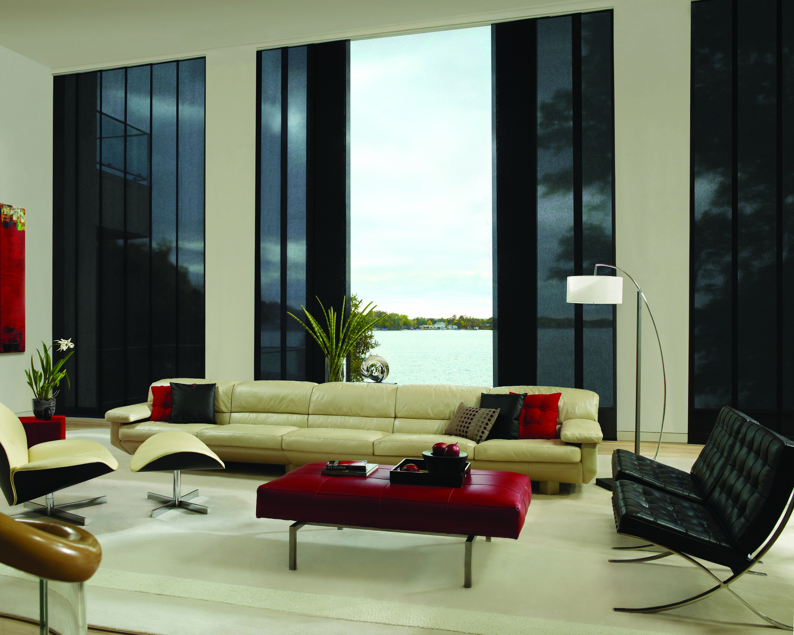 Clean Lines And A Simple Contemporary Look Sliding Panels Offer