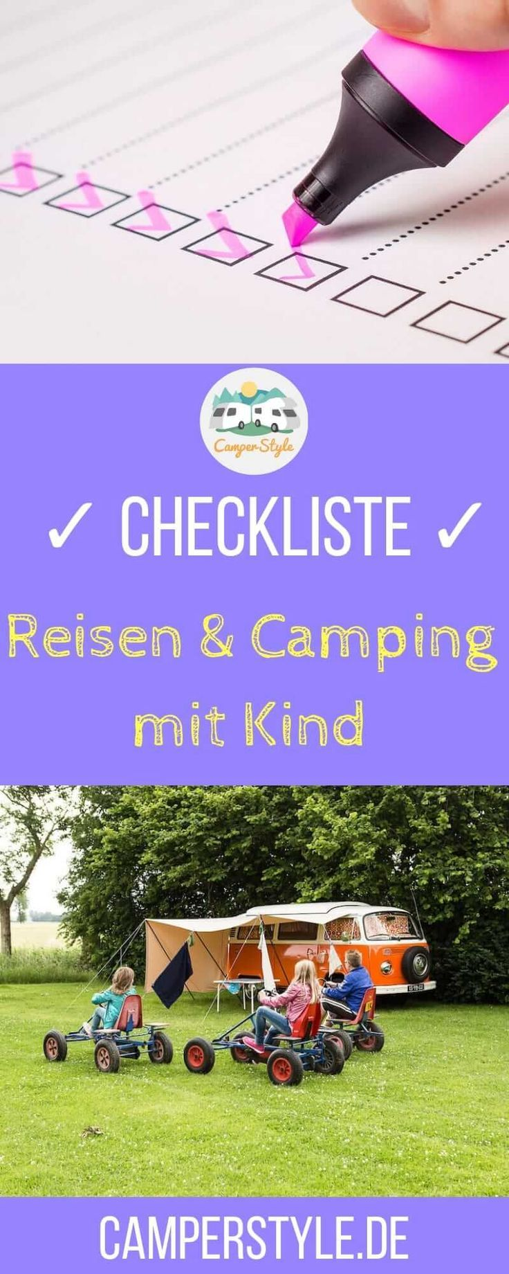 Photo of Checklist: Travel and camping with a child