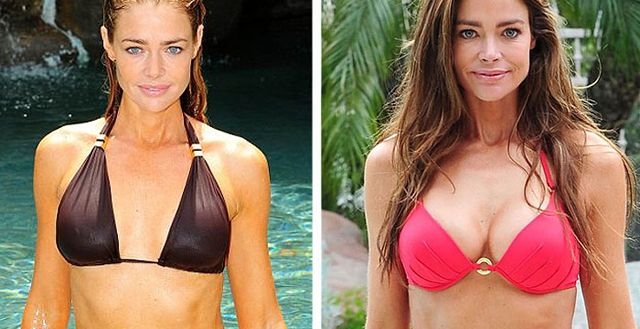 Denise richards real breast