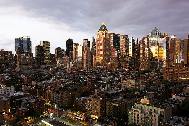 Amazing view of Hell's Kitchen, Manhattan. One of the best neighborhoods in New York!