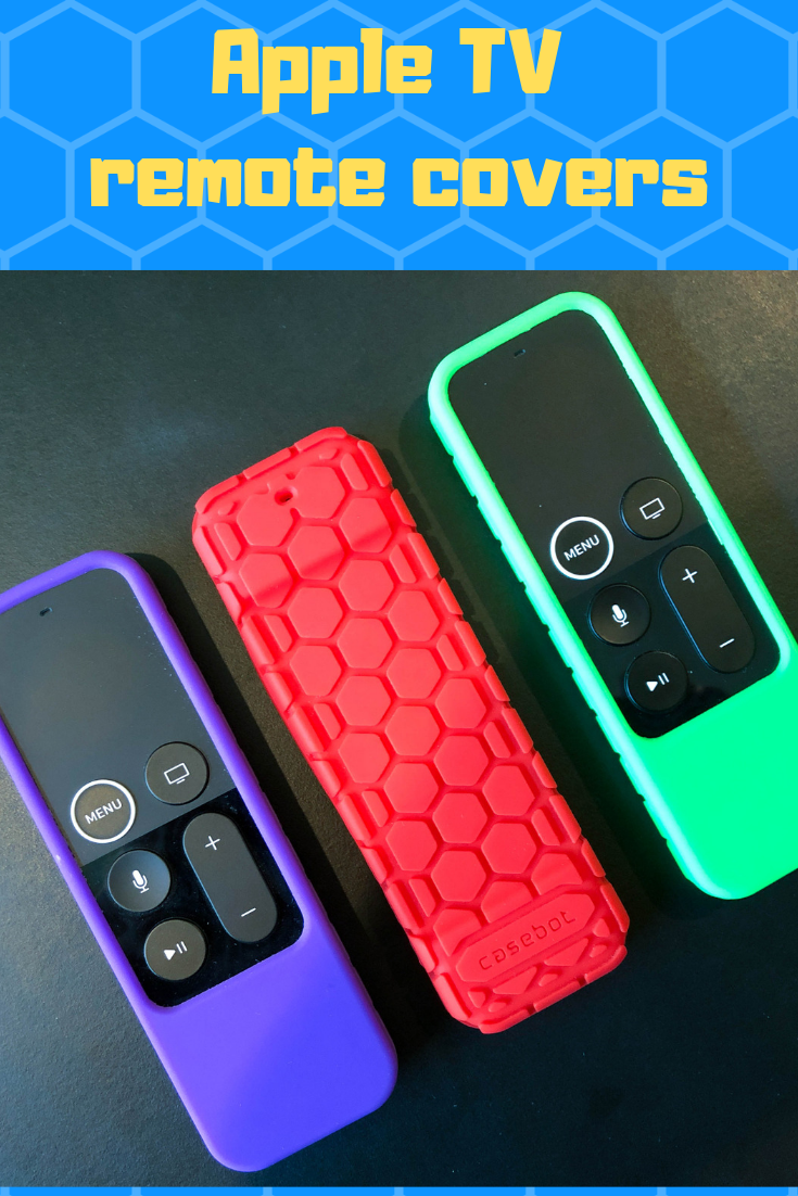 I review the Fintie covers for Apple TV remotes. Apple