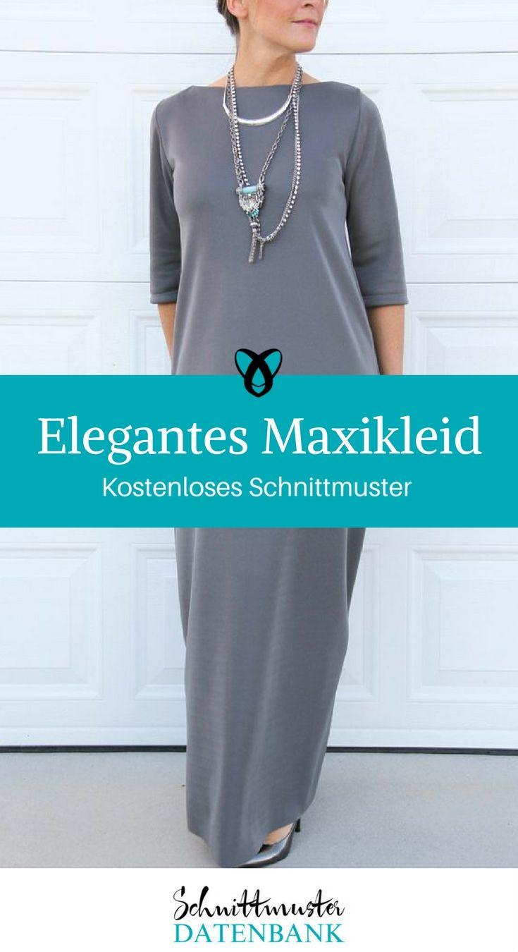 Unique Maxi Kleid Schnittmuster Pattern - Decke Stricken Muster ...