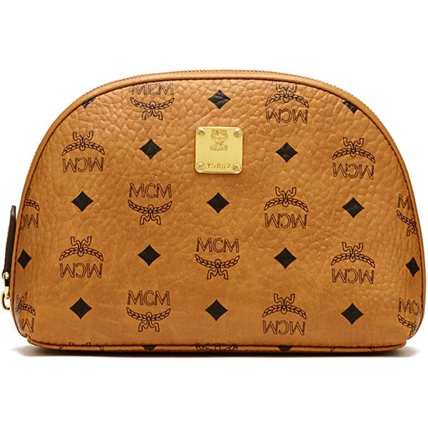 mcm heritage cosmetic pouch cosmetic