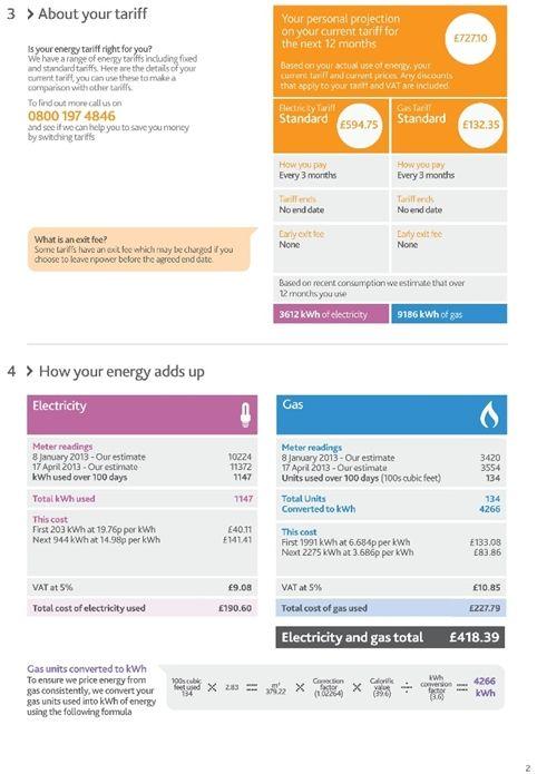 Lippincott Redesigns Npower Energy Bills Bills Energy Bill