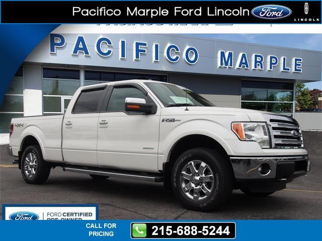 2013 Ford F-150 Lariat 23k miles $37,200 23628 miles 215-688-5244 Transmission: Automatic  #Ford #F-150 #used #cars #PacificoMarpleFordLincoln #PikeBroomall #PA #tapcars