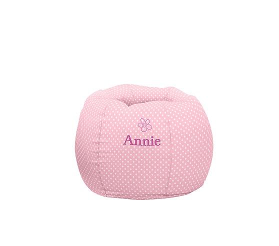 Pottery Barn Kids Mothers Day: Light Pink Mini Dot Anywhere Beanbag