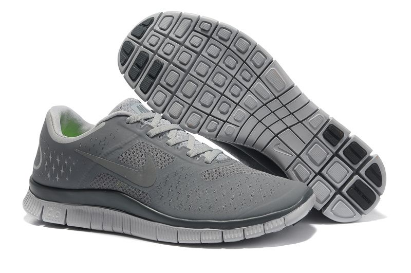 Nike Free 4 0 V2 Mens Shoe Wolf Grey Reflective Silver Cool Grey95 nike air max nike clearance store hours authentic quality