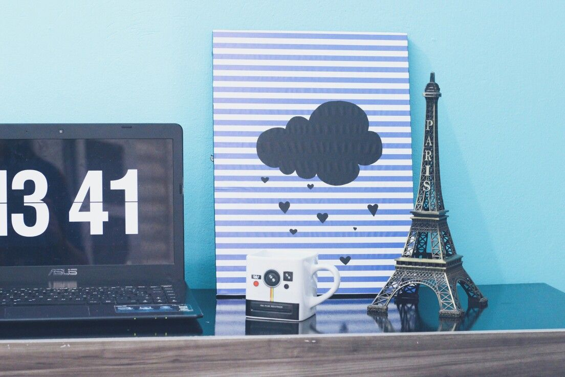 Diy - Quadro decorativo para home office