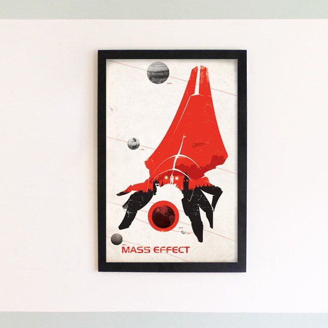 Mass Effect Print 11 X 17 by damonboreing on Etsy