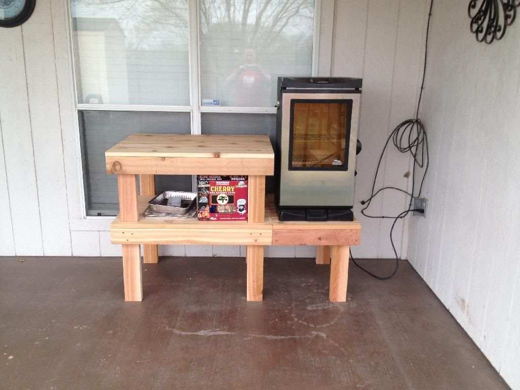 Diy Smoker Stand Google Search Diy Wood Work Porches