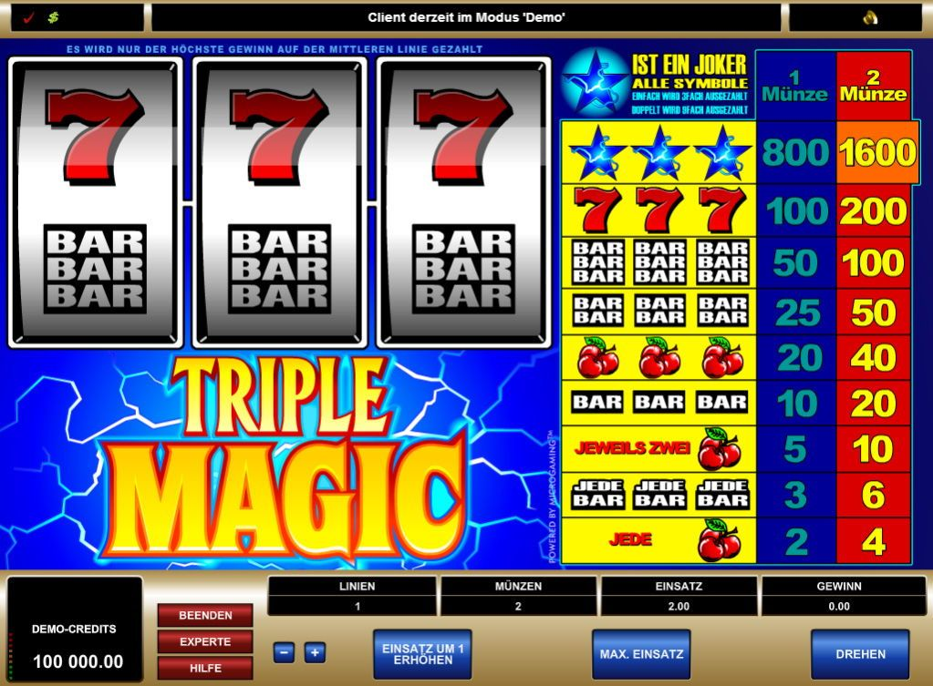 Keno slot machine