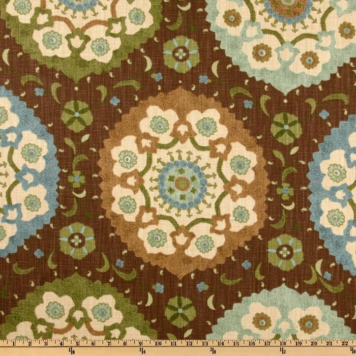 Charleston Home Calder Chocolate   Discount Designer Fabric   Fabric.com