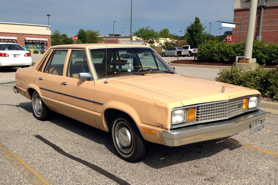 1979 Ford Fairmont The Ur Fox Fairmont Ford Granada Ford