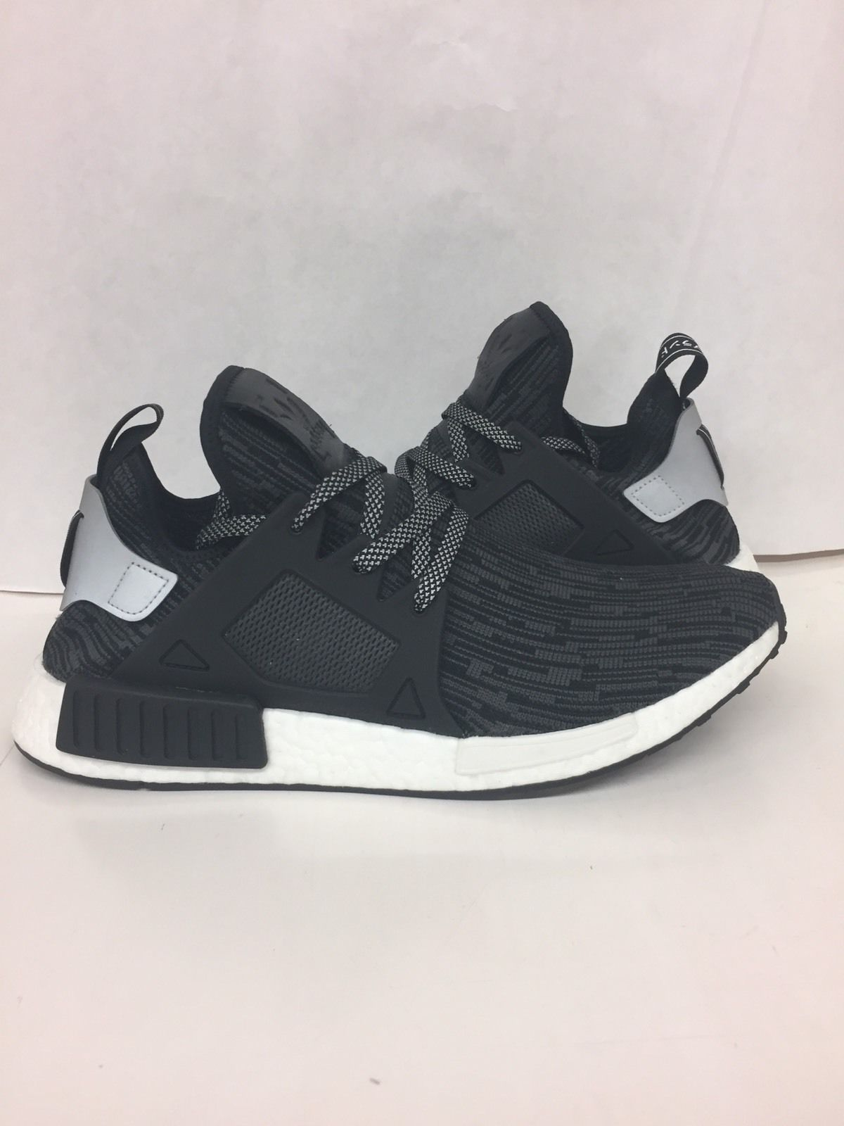 adidas nmd xr1 pk prime knit tricolor black mens shoes size 11.5 brand new