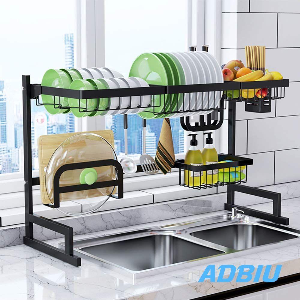 Sink Rack Dish Drainer For Kitch Kitchen Interior Design Modern Kitchen Furniture Design Small Kitchen Diy