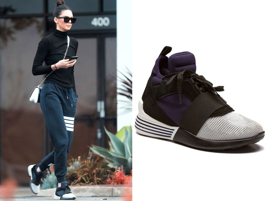 Kendall + Kylie Clothing Line: The Pieces Kendall Jenner Actually Wears -  tennis shoes