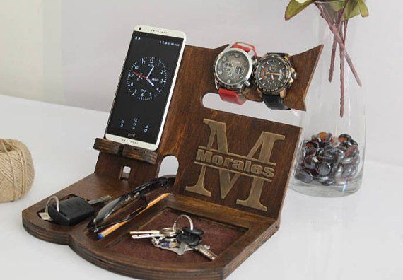 Charging Station IPhone Husband Gift Dock For Him
