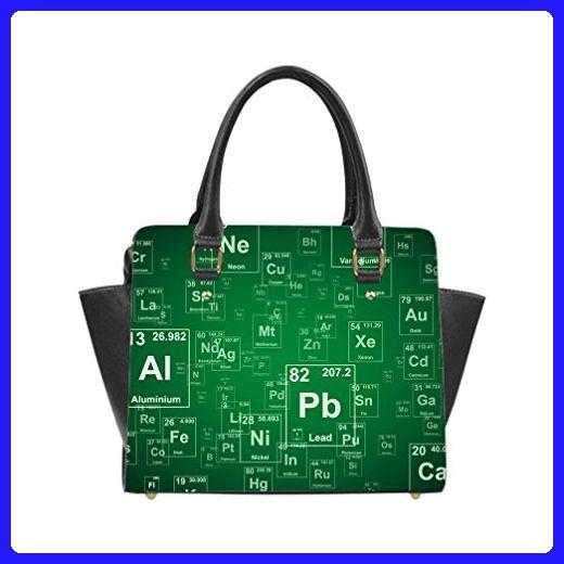 jiuduidodo custom periodic table pu leather casual classic shoulder rh pinterest co uk