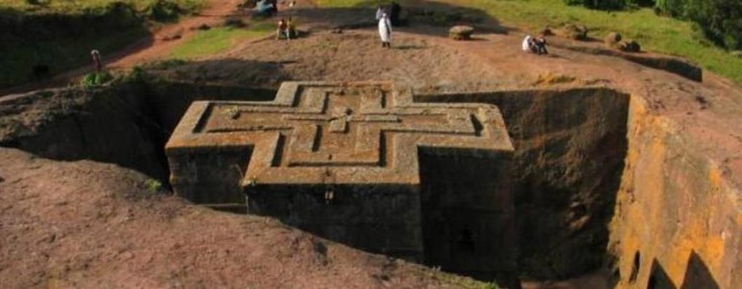 Underground Church in Lalibela