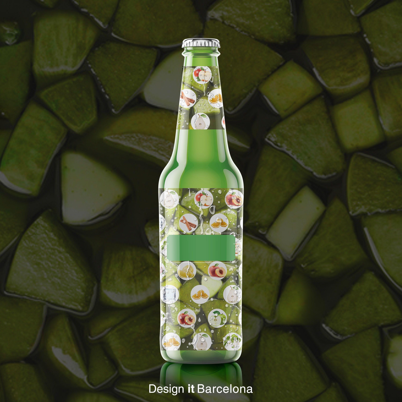 Diseño Packaging Sangría de Sidra Mayador