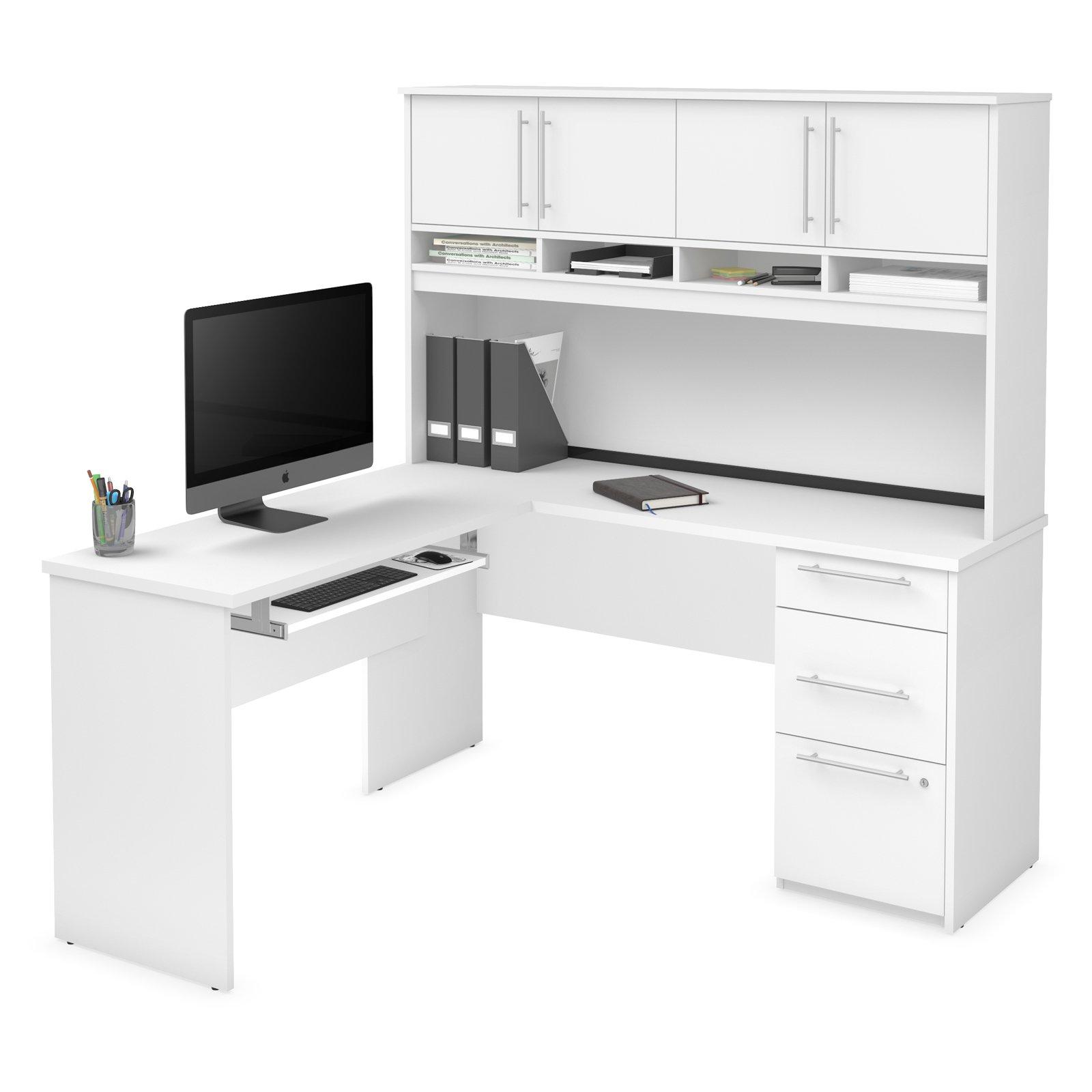 Bestar Innova Plus L Shaped Desk Diseno De Escritorio Diseno De Oficina En Casa Muebles Para Computadora