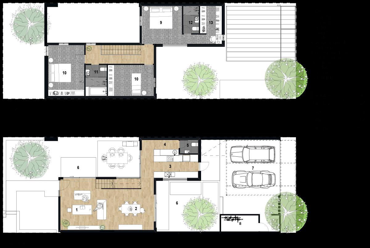 3 master bedroom house plans  Pin by fernando pérez on casas modernas  Pinterest  House