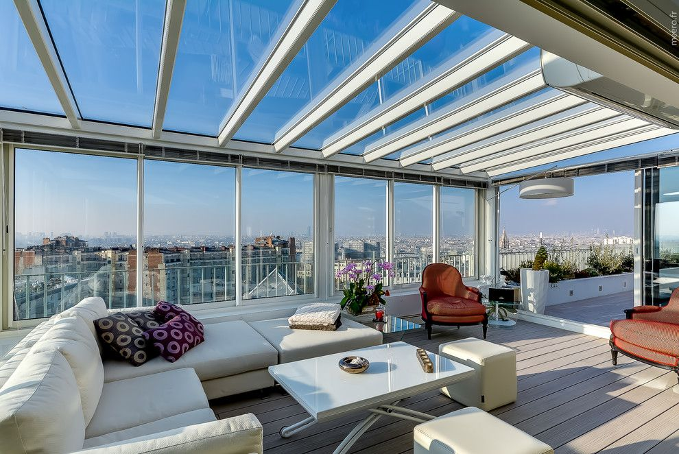 Penthouse in Paris by Manuel Sequeira Architecture