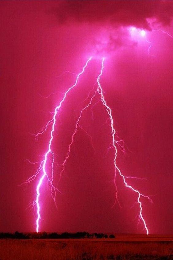 Pink Lightening Thunderstorm Nature Amazingnature Nature Amazingnature Https Biopop C Pink Wallpaper Iphone Hot Pink Wallpaper Pink Nature