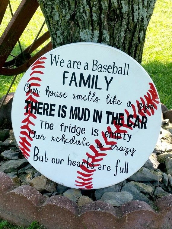 Photo of Baseball Sign – Family Baseball Sign – Wooden Baseball Sign – Sport Sign – Baseball Plaque – Softball Sign – Baseball Family – Wood Decor