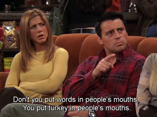 Oh I Love Friends Thanksgiving Friends Moments Friends Tv Show Quotes Friends Tv