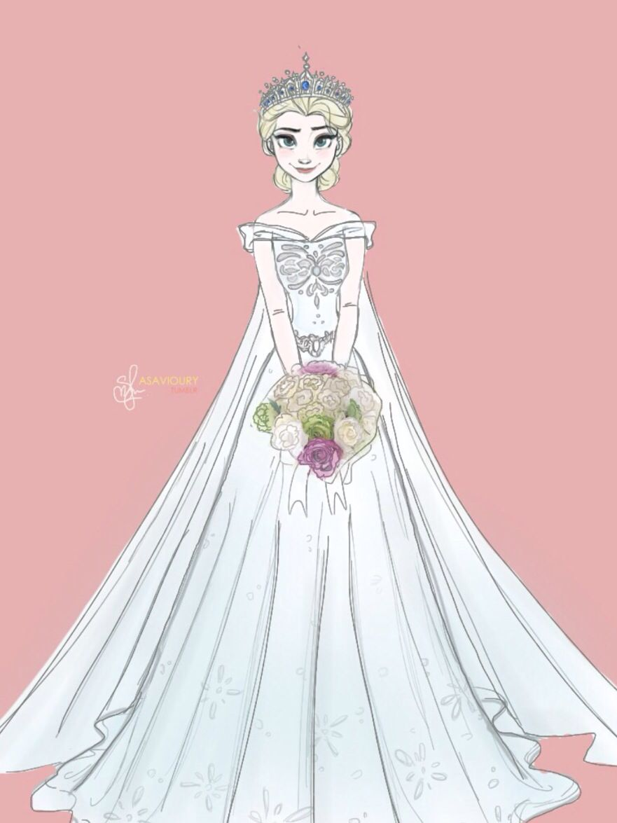Wedding Dress Animation