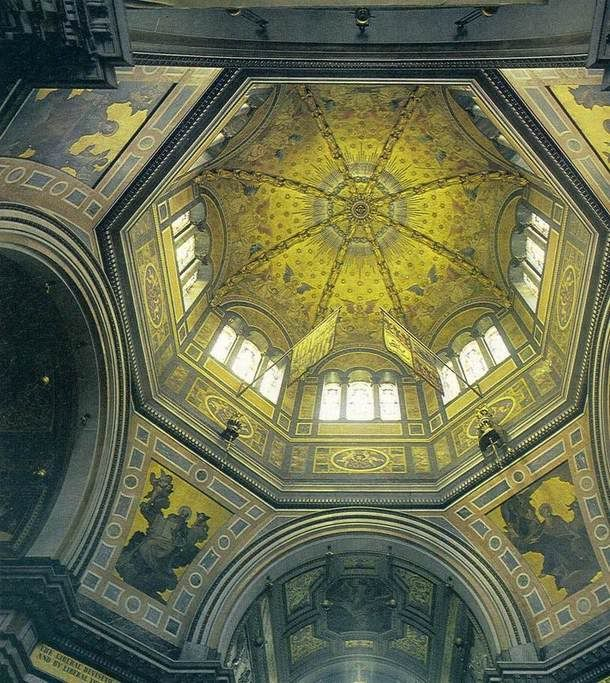 Dome Home Interiors: Interior Dome Of Frogmore Mausoleum