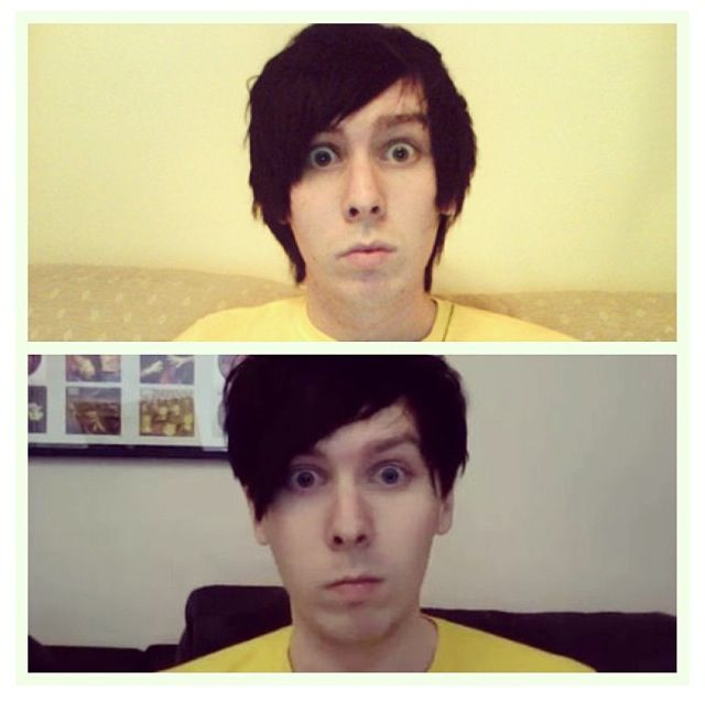 Phil 5 years ago wearing the same t-shirt :') haha