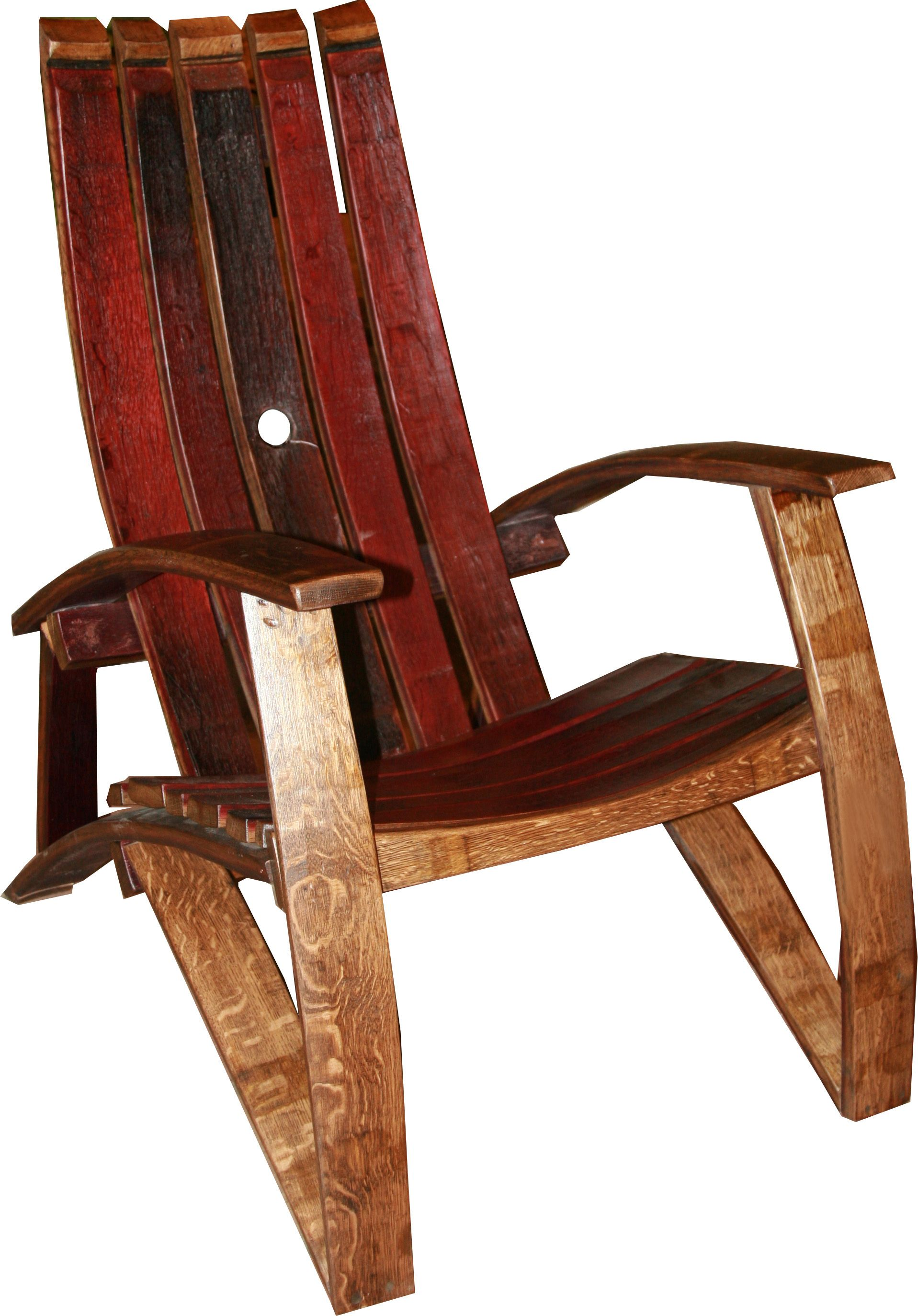 barrel stave adirondack chair plans black authenteak wine awesome