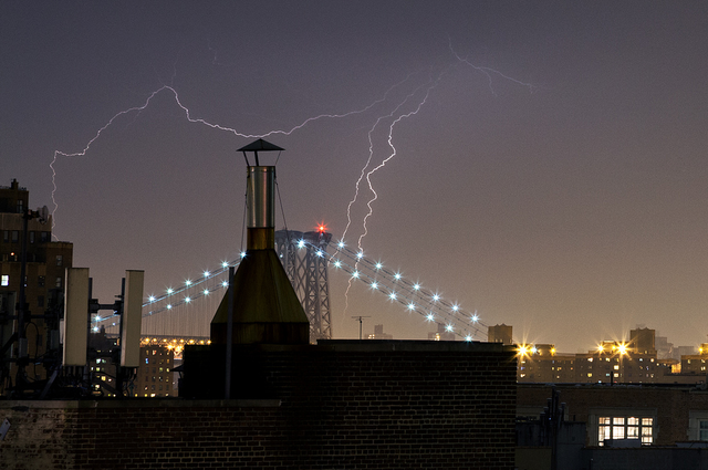 The Best Photos, Videos Of Last Nights Spooky Stormy Sky: Gothamist. Photo by Photo: James and Karla Murray Photography
