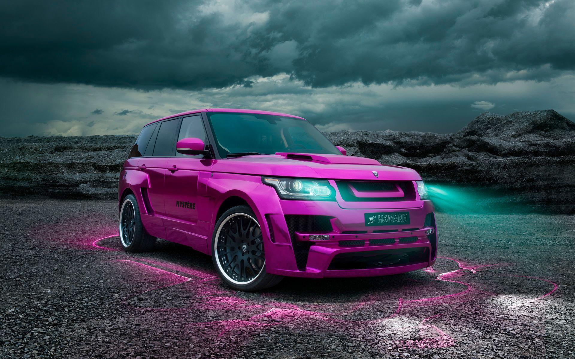Pink Range Rover Modified Hd 1080p Wallpaper Background Weird Cars Range Rover Sport Range Rover