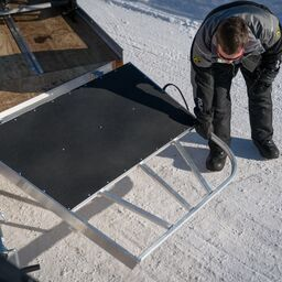 Salt Shield for V-Front Trailers | Snowmobile trailers ... on