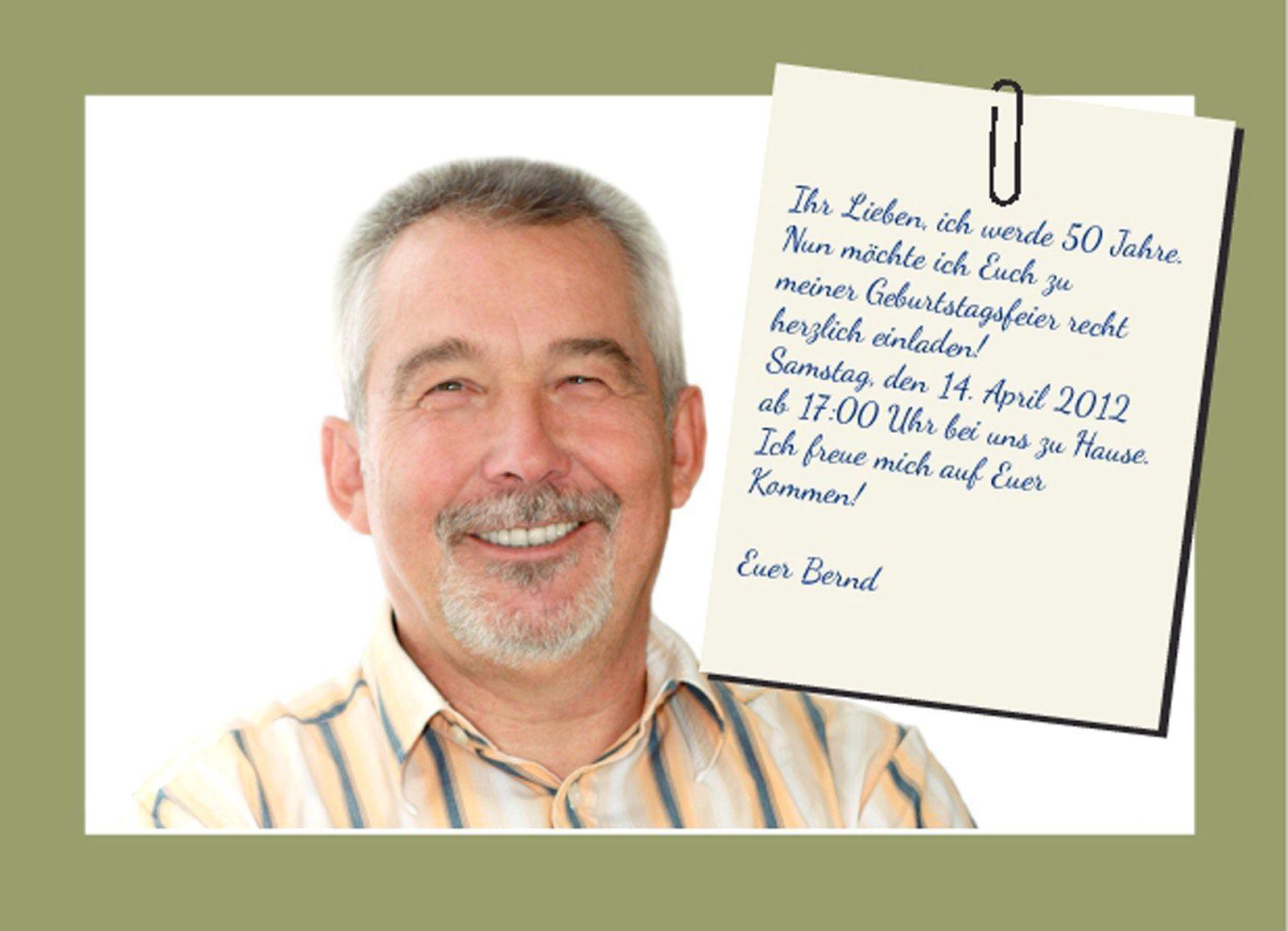 Einladungskarten Zum 60 Geburtstag Vorlagen 1