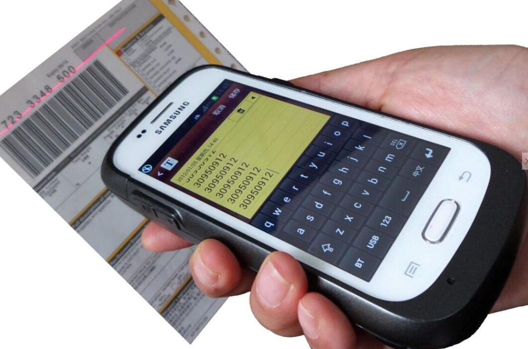 Enterprise android barcode sled gssl2100 perfectly