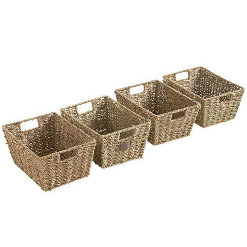 Seagrass Basket Wayfair Basics™