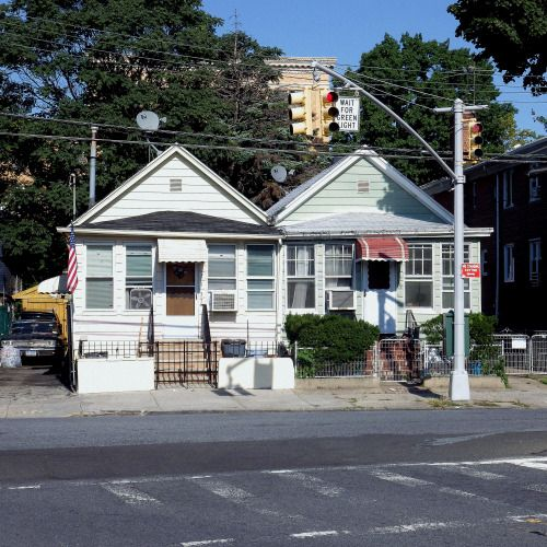 Houses in Glendale, Queens.