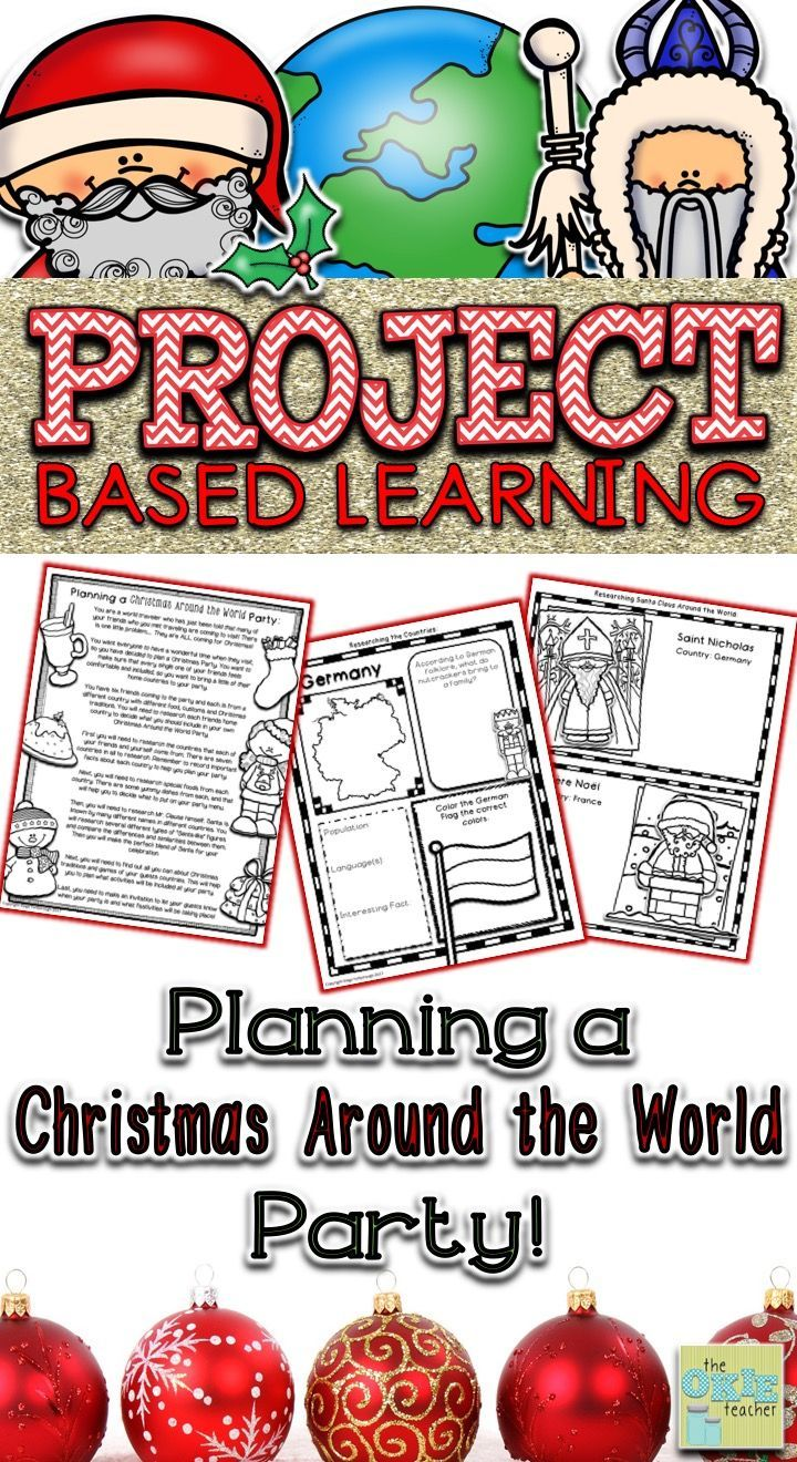 Christmas Around The World Party Ideas Part - 29: Project Based Learning: Planning A Christmas Around The World Party |  Project Based Learning, Students And Learning