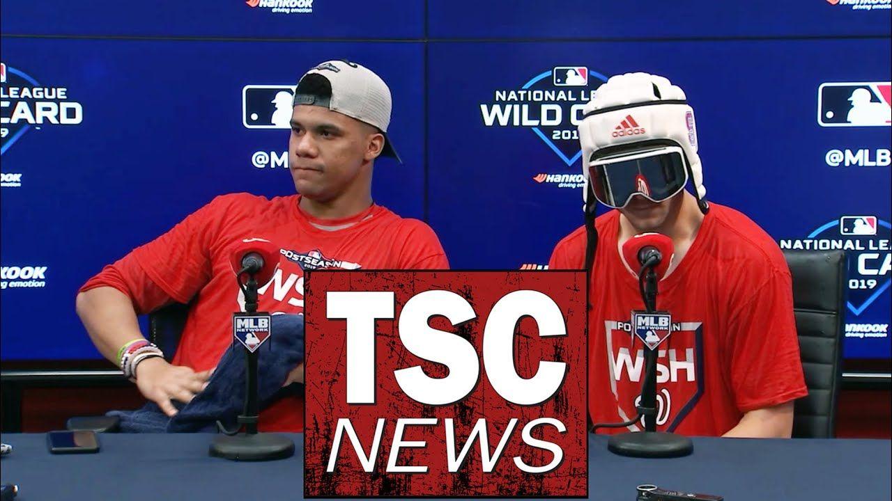 Washington Nationals Nl Wild Card Postgame Press Conference Washington Nationals Wild Card National L