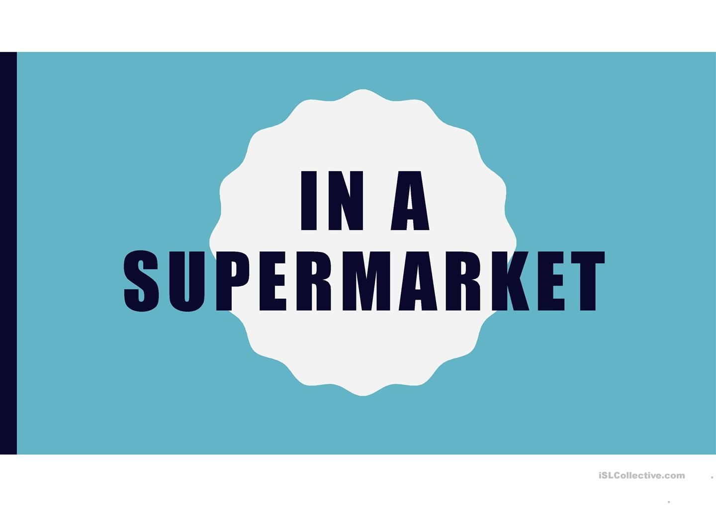 In a supermarket (Vocab Game - Guessing Brands) | ESL Powerpoints of ...