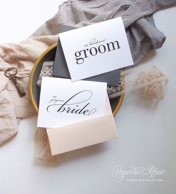 Wedding Day Card To Bride Or Groom