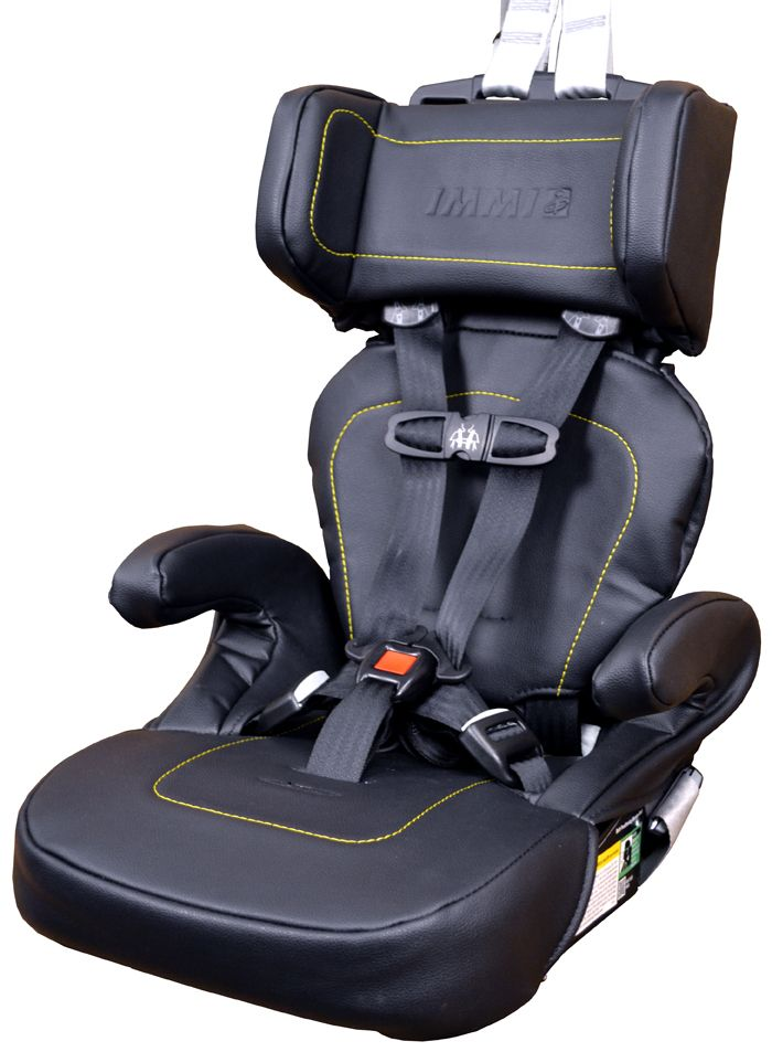The IMMI GO Seat, the por hybrid child seat used by Uber for ...