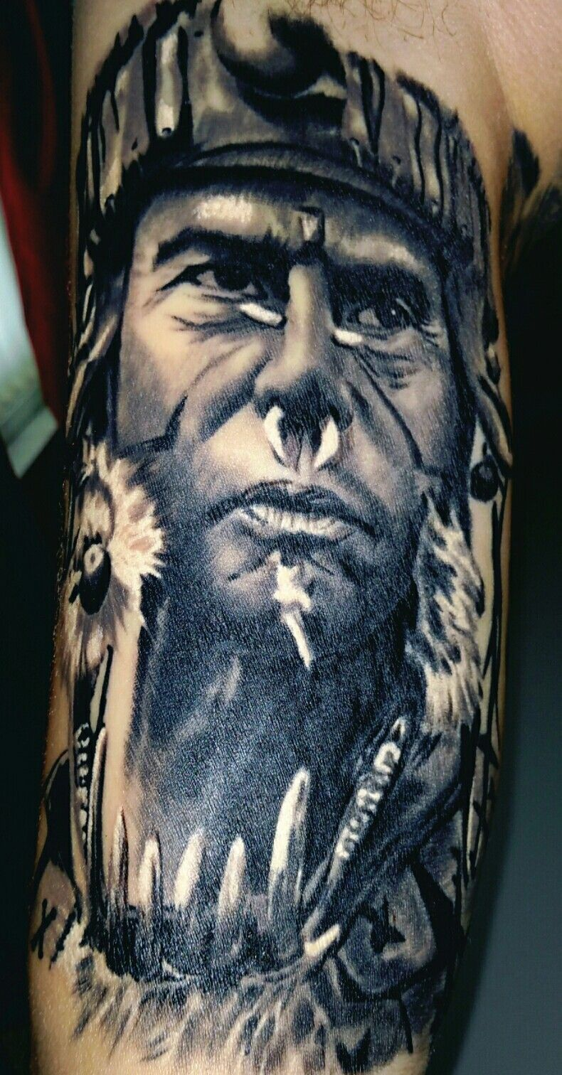 Tattoo You: Apocalypto color portrait by Tim Lees of ...  |Apocalypto Tattoo