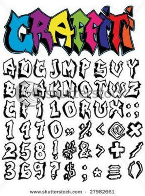 graffti faunts graffiti alphabet a z art alphabet graffiti you can